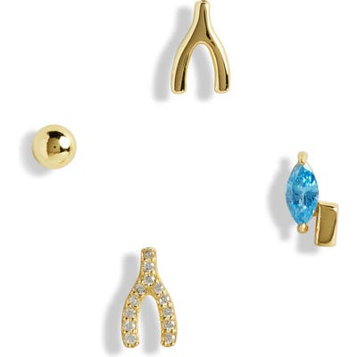 Argento Vivo Luck Talisman Set Of 4 Mismatched Earrings