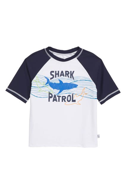 Image of Flapdoodles Shark Patrol Rashguard Top