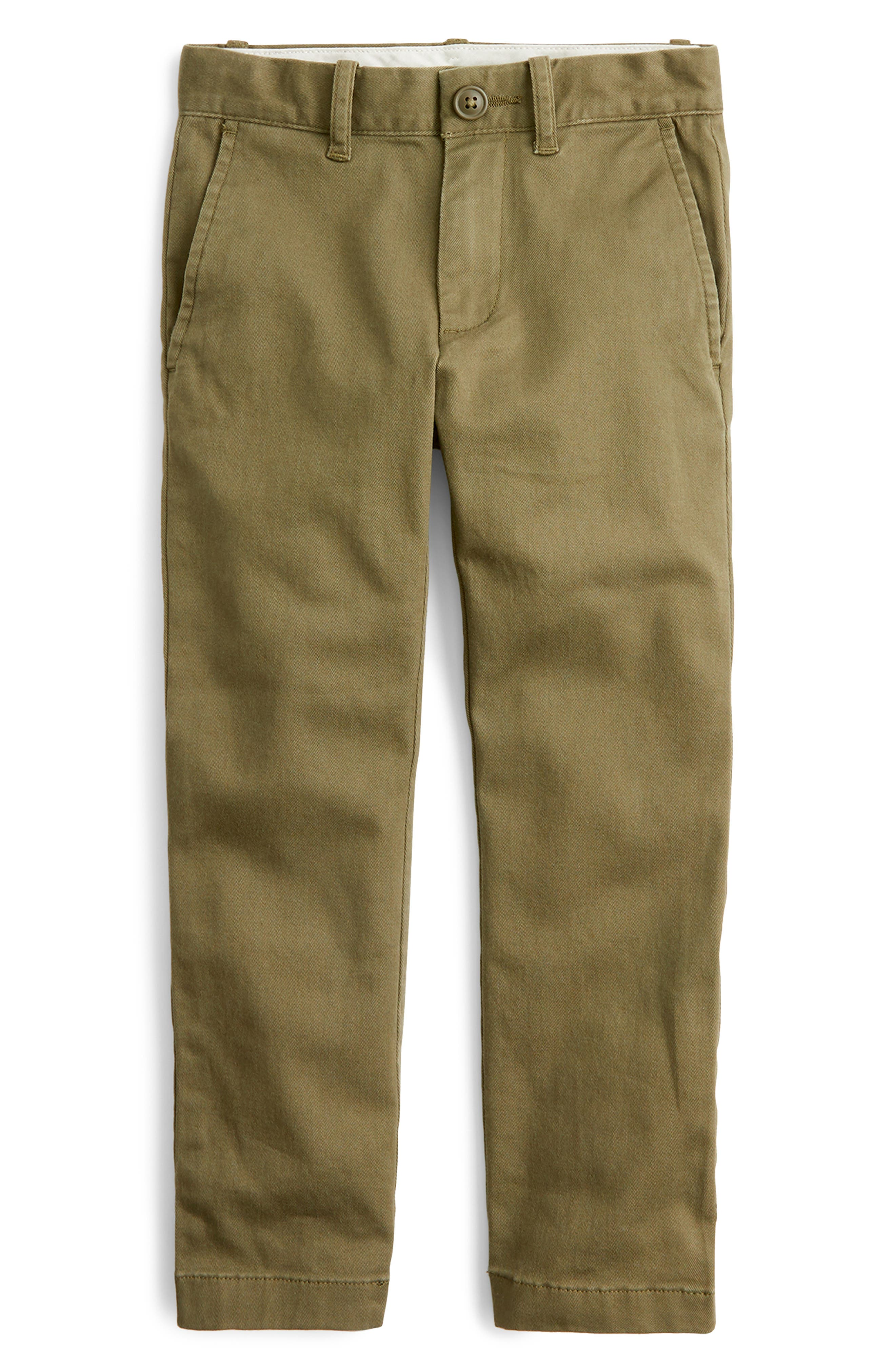 Boys Crewcuts By Jcrew Chino Pants Size 14  Green