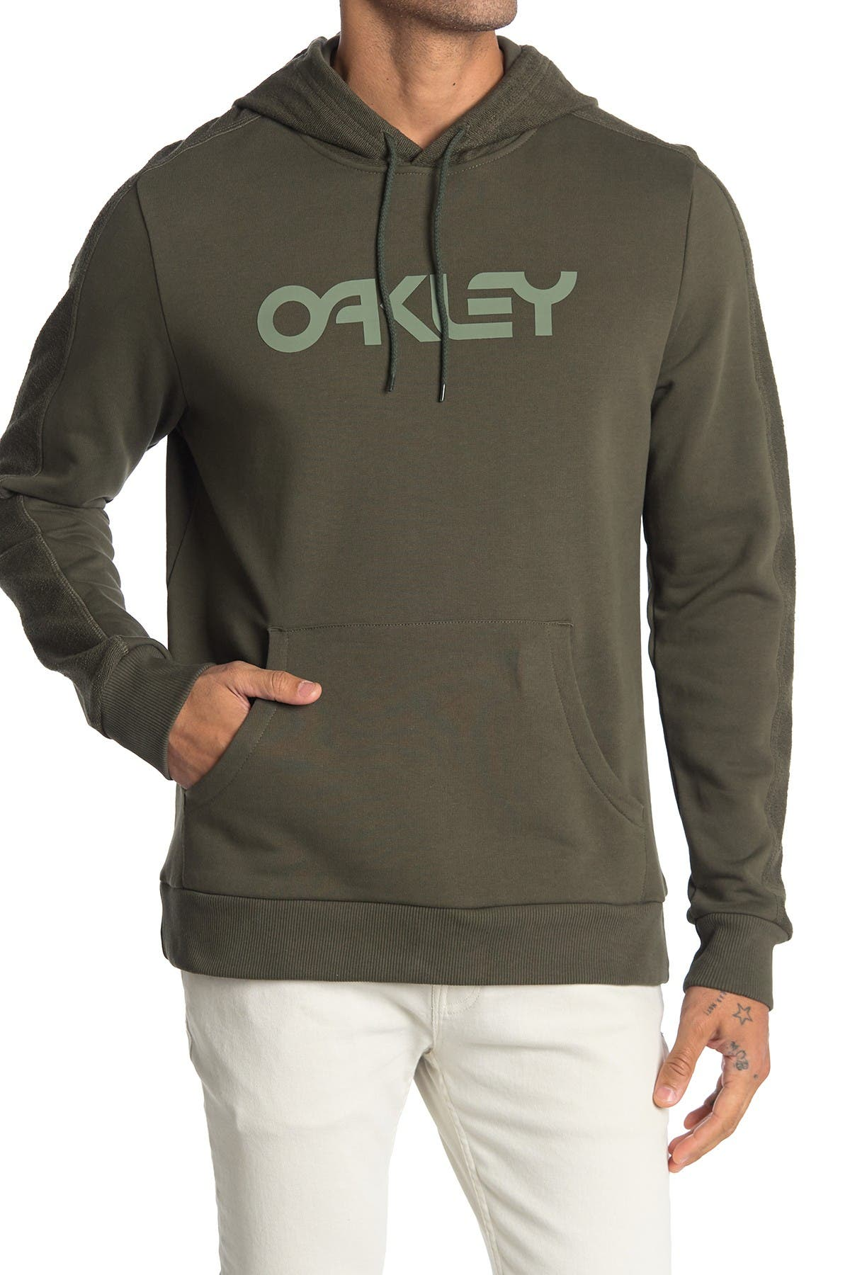 Image of Oakley Reverse French Terry Pullover Hoodie