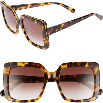 Stella Mccartney 5m Square Sunglasses - Avana