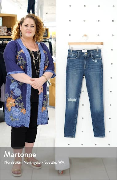 Le High Waist Skinny Jeans, sales video thumbnail