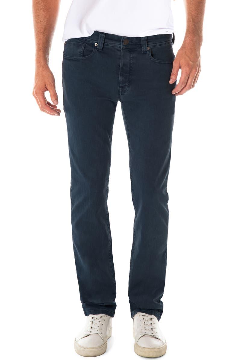 FIDELITY DENIM Jimmy Slim Straight Leg Jeans, Main, color, DARK SEA