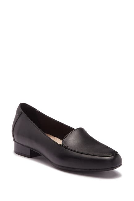 Image of Clarks Juliet Lora Leather Loafer - Multiple Widths Available