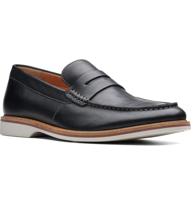 CLARKS<SUP>®</SUP> Atticus Free Penny Loafer, Main, color, 003