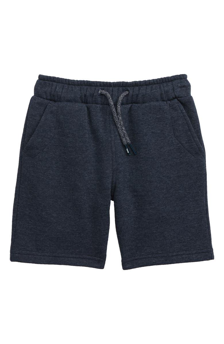 QUIKSILVER Fleece Athletic Shorts, Main, color, NAVY HEATHER