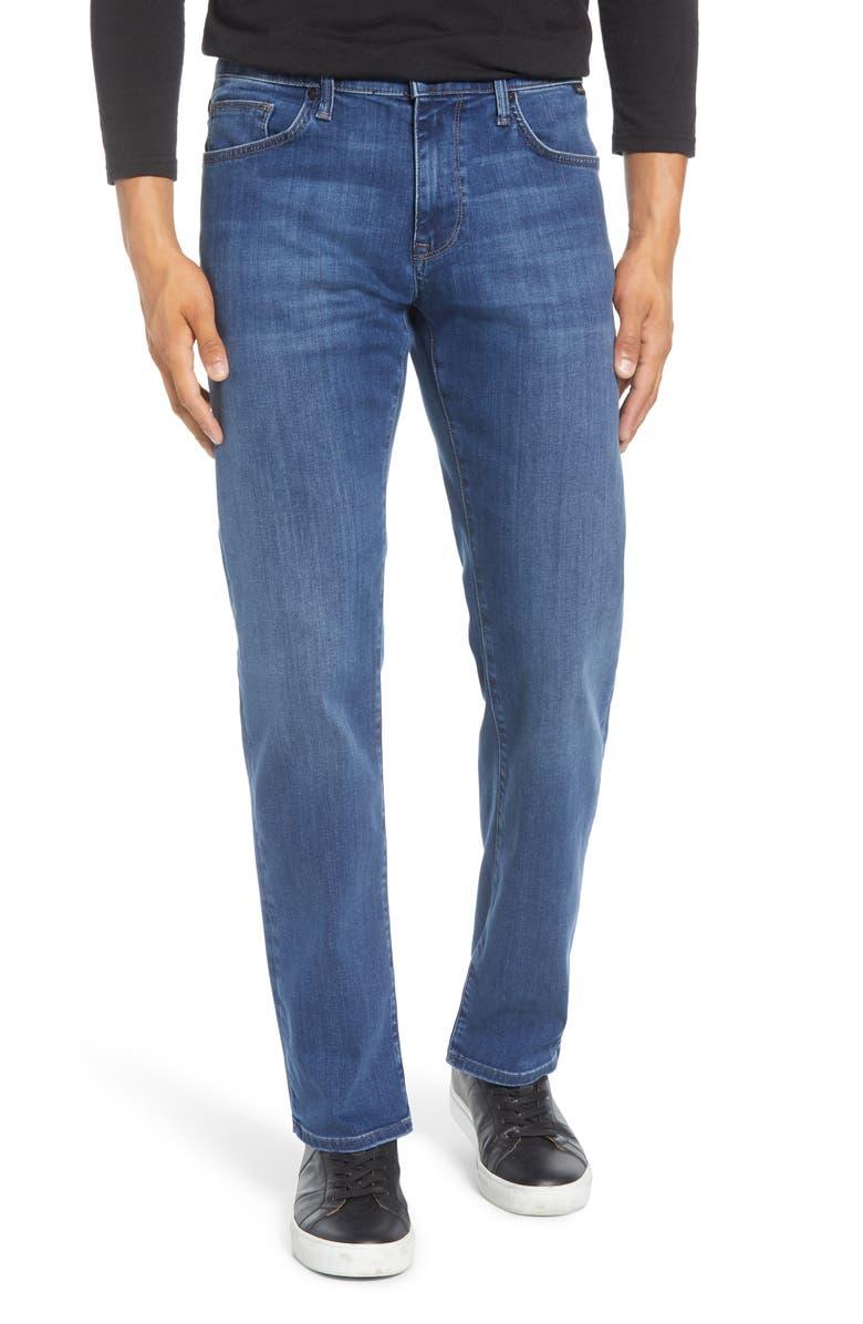 MAVI JEANS Zach Straight Leg Jeans, Main, color, SKY SUPERMOVE