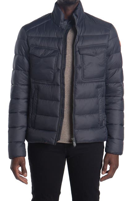 Image of Save The Duck Quilted Puffer Jacket