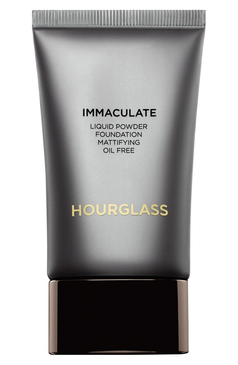 HOURGLASS Immaculate<sup>®</sup> Liquid Powder Foundation, Main, color, BLANC