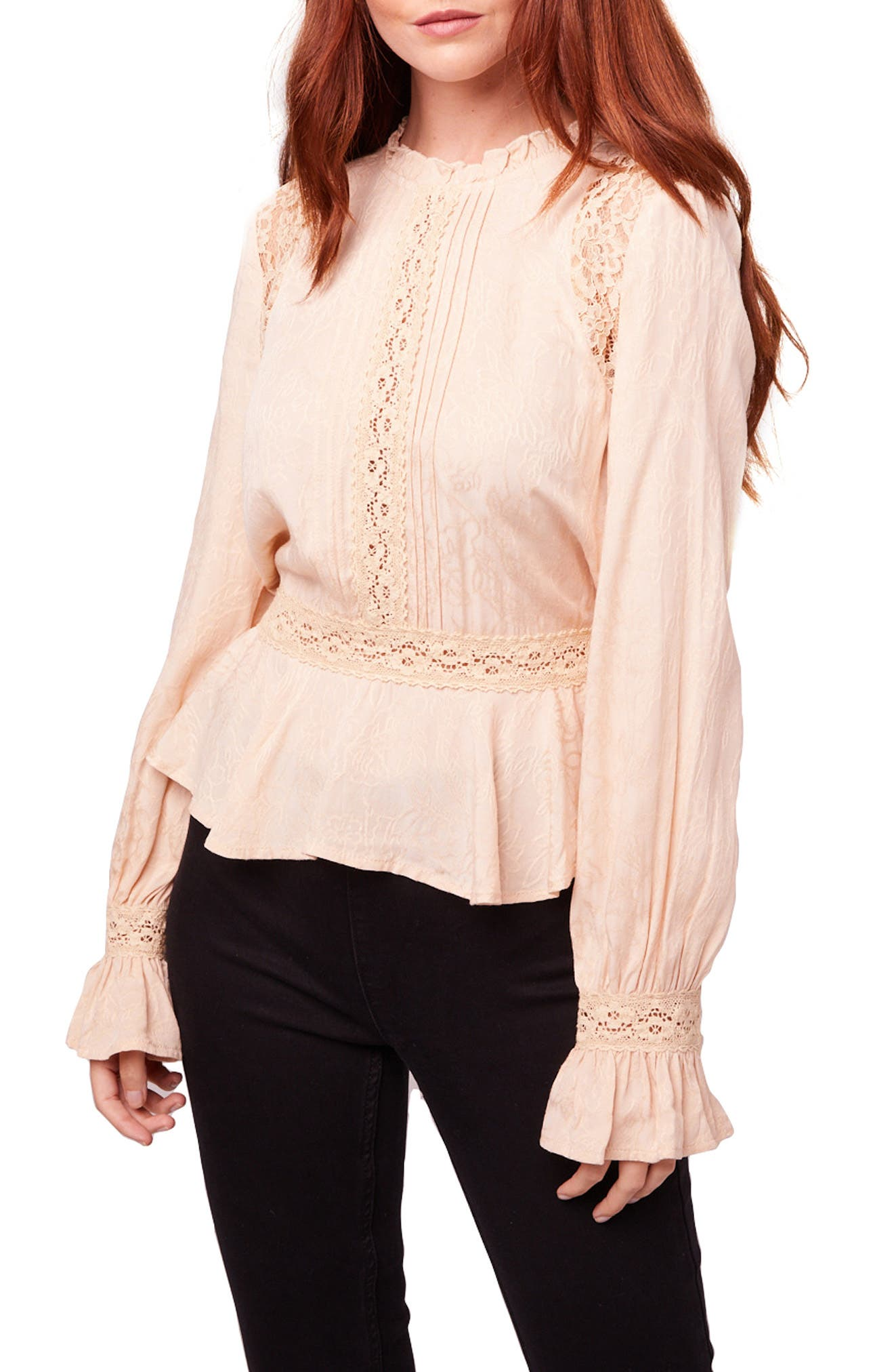 Shirley Floral Lace Blouse