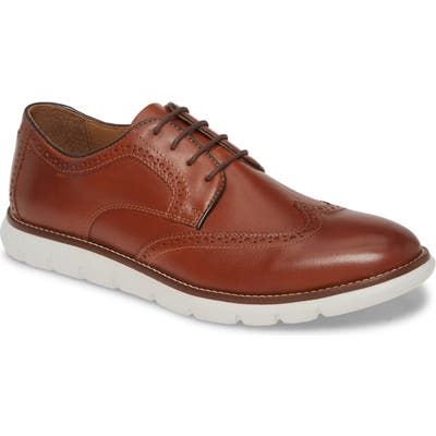 Johnston & Murphy Holden Wingtip- Brown