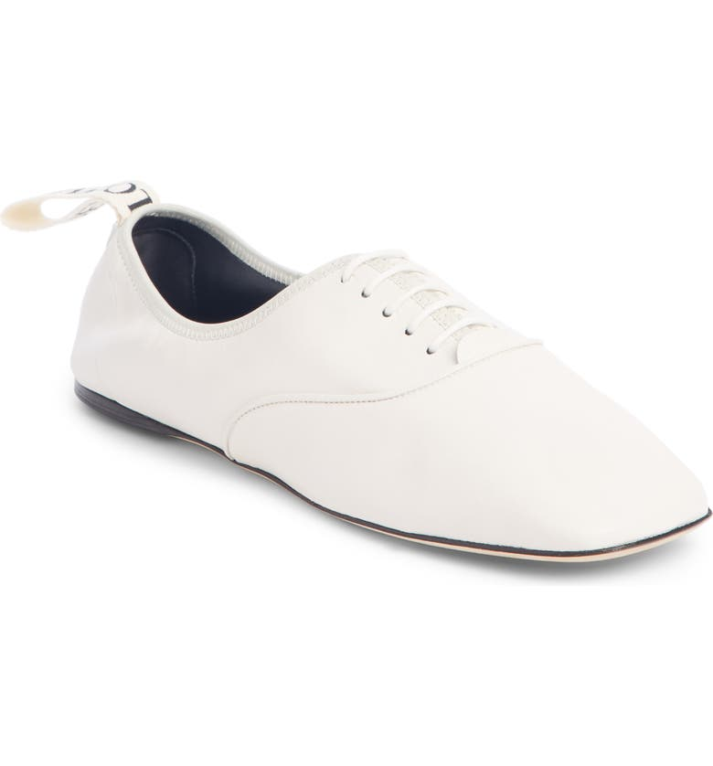 LOEWE Soft Derby Shoe, Main, color, SOFT WHITE