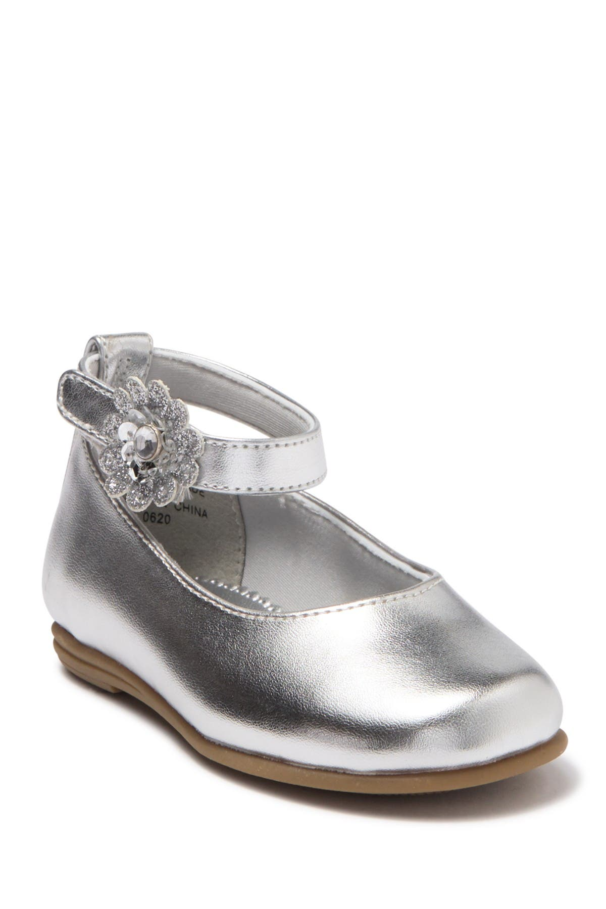 Image of Valencia Imports Lil Sheryl Ankle Strap Flat