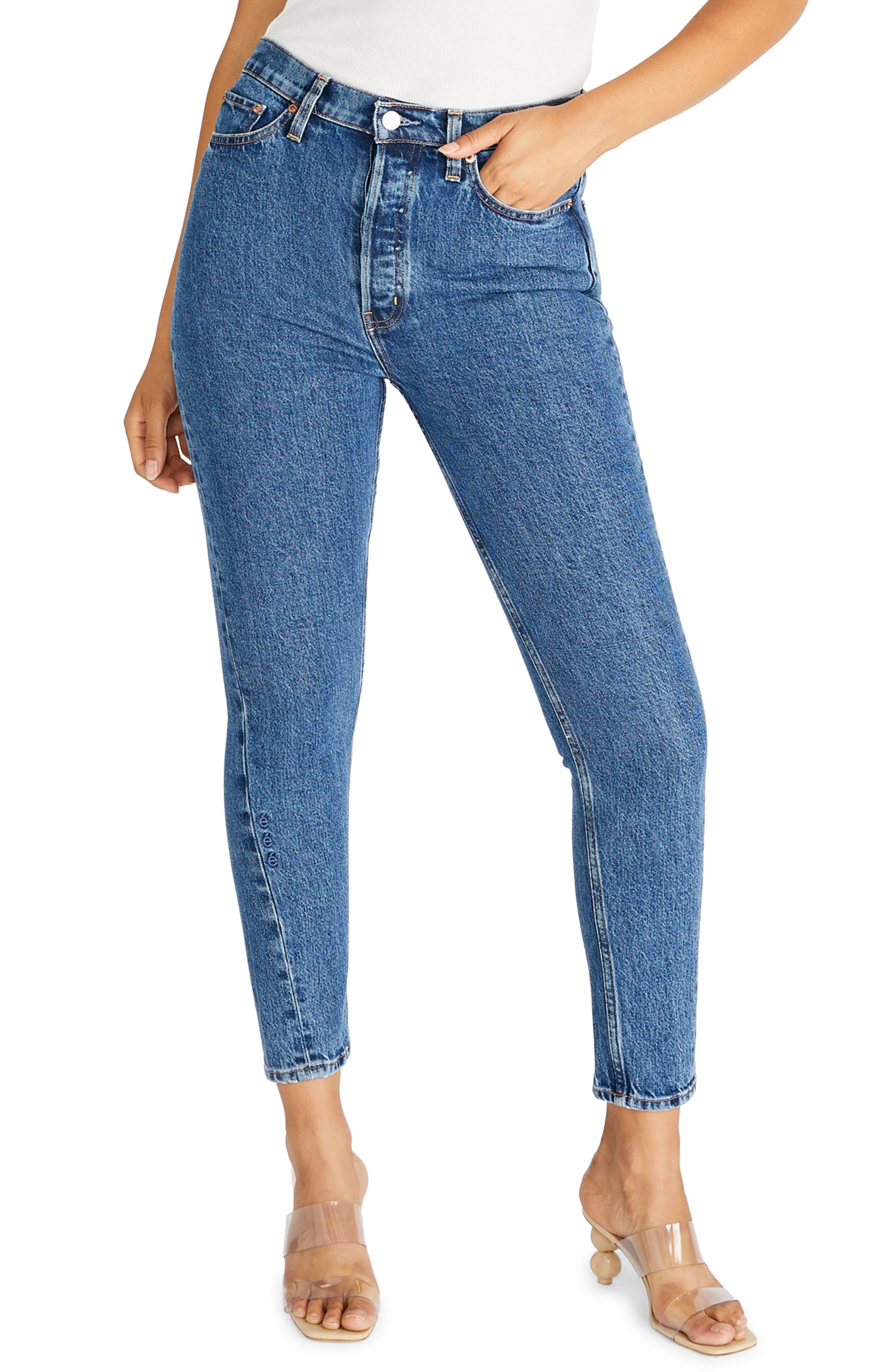 Women's Etica Alex Twist Seam High Waist Ankle Skinny Jeans