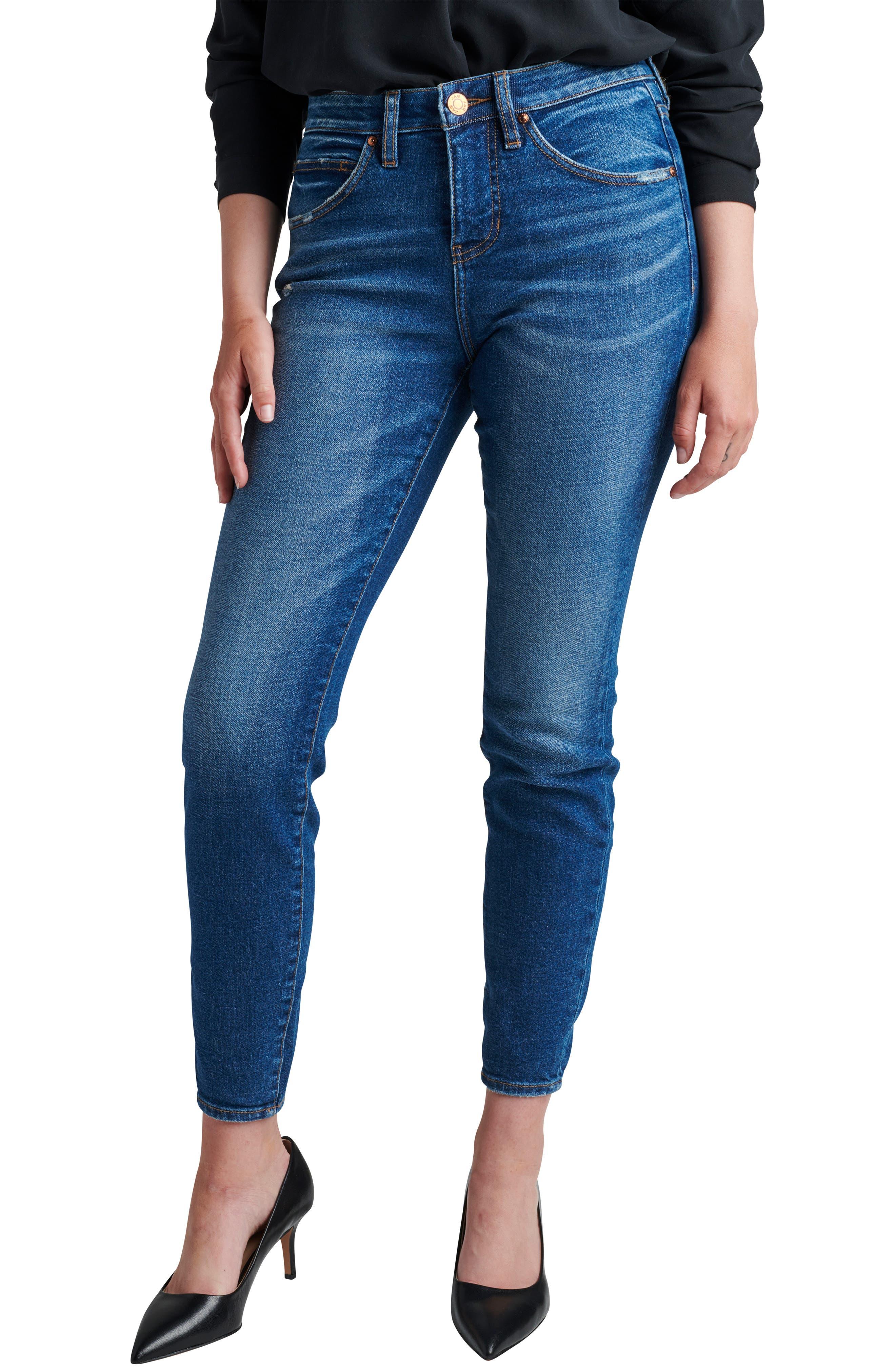 Cecilia High Waist Skinny Jeans