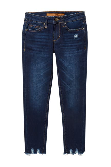 Image of Joe's Jeans Mid Rise Markie Fit Rocker Raw Skinny Jeans