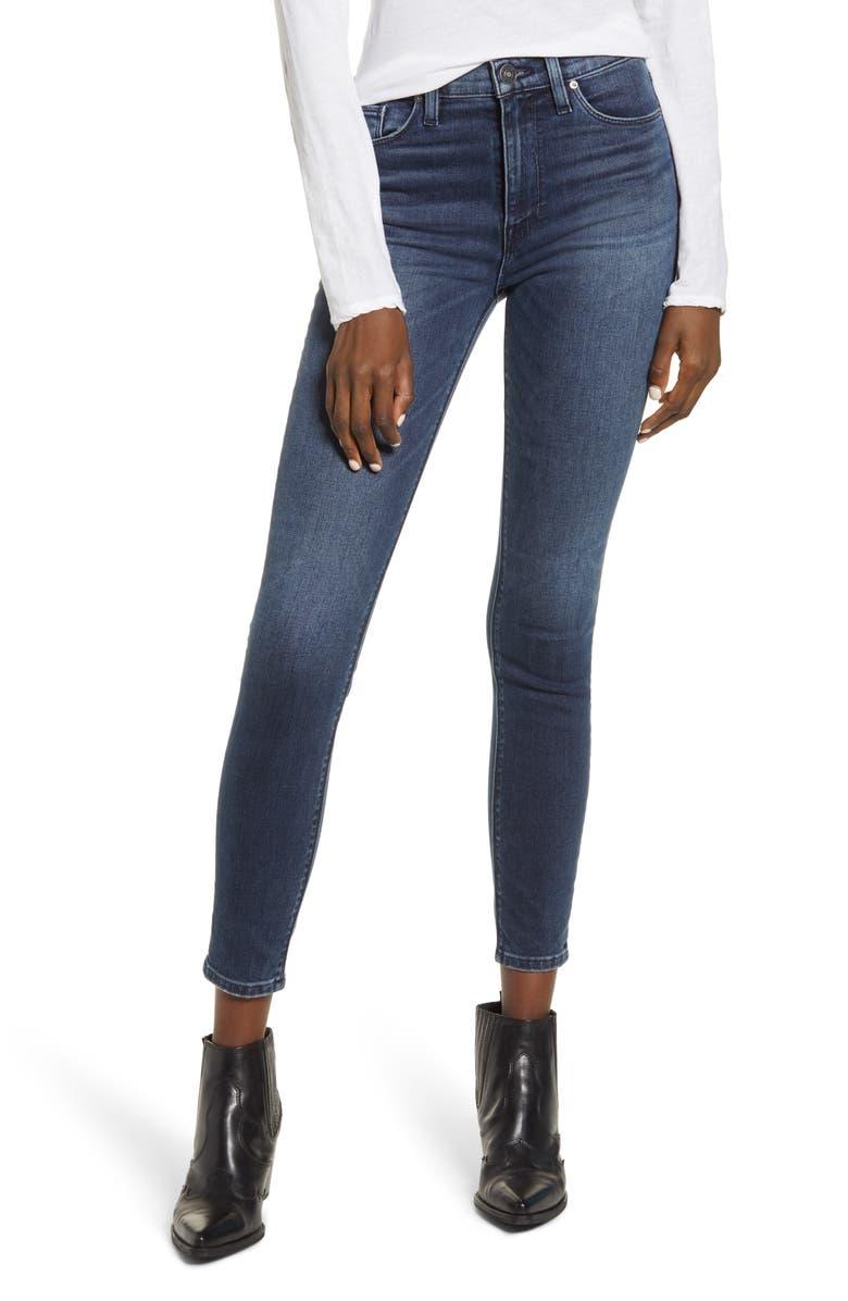 HUDSON JEANS Barbara High Waist Ankle Super Skinny Jeans, Main, color, GAMBIT 2
