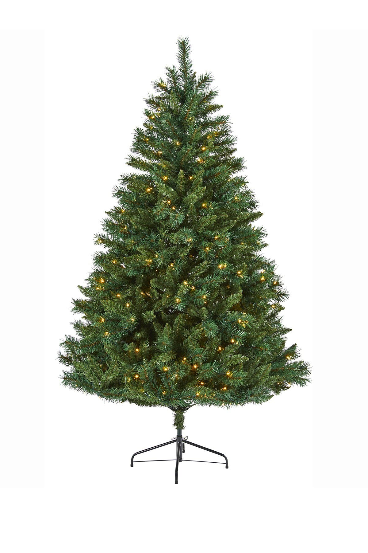 Image of NEARLY NATURAL 6ft. Rocky Mountain Mixed Pine Artificial Christmas Tree