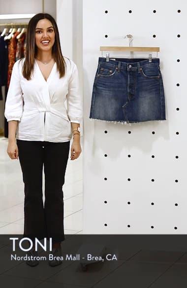 Deconstructed Denim Skirt, sales video thumbnail