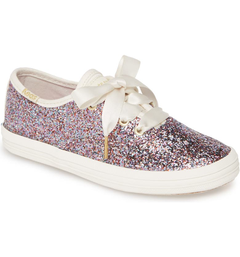 KEDS<SUP>®</SUP> for kate spade new york champion glitter sneaker, Main, color, MULTI