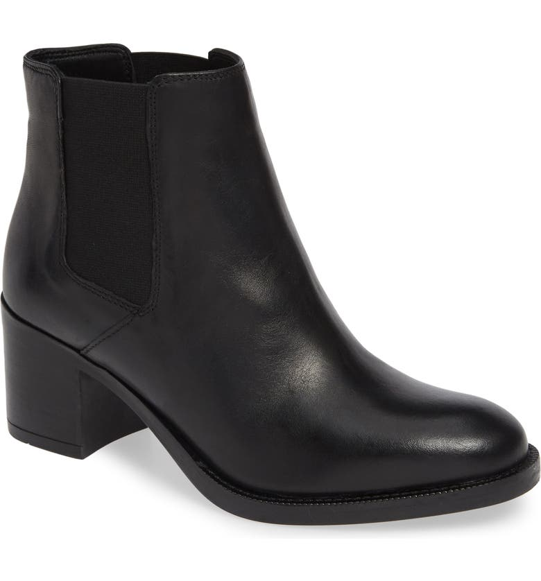 CLARKS<SUP>®</SUP> Mascarpone Bay Chelsea Boot, Main, color, BLACK LEATHER