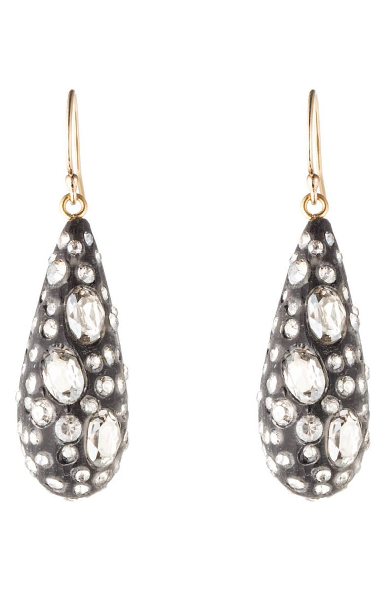 ALEXIS BITTAR Essentials Diamond Dust Dewdrop Earrings, Main, color, 001