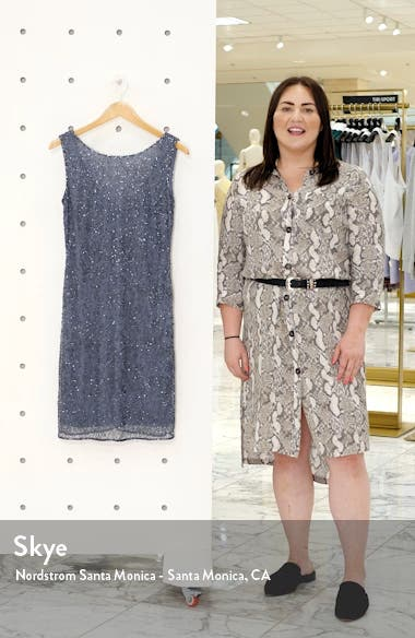 Beaded Sheath Dress, sales video thumbnail