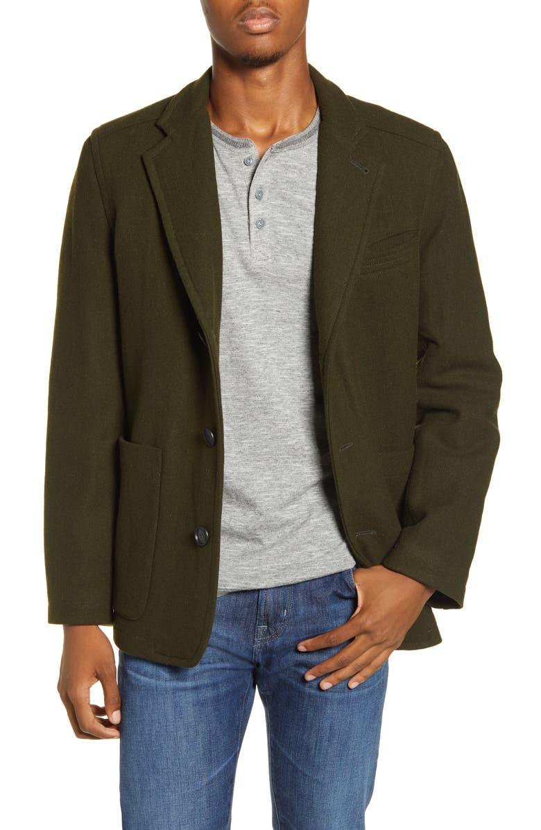 PENDLETON Benton Wool Blend Sport Coat, Main, color, 344