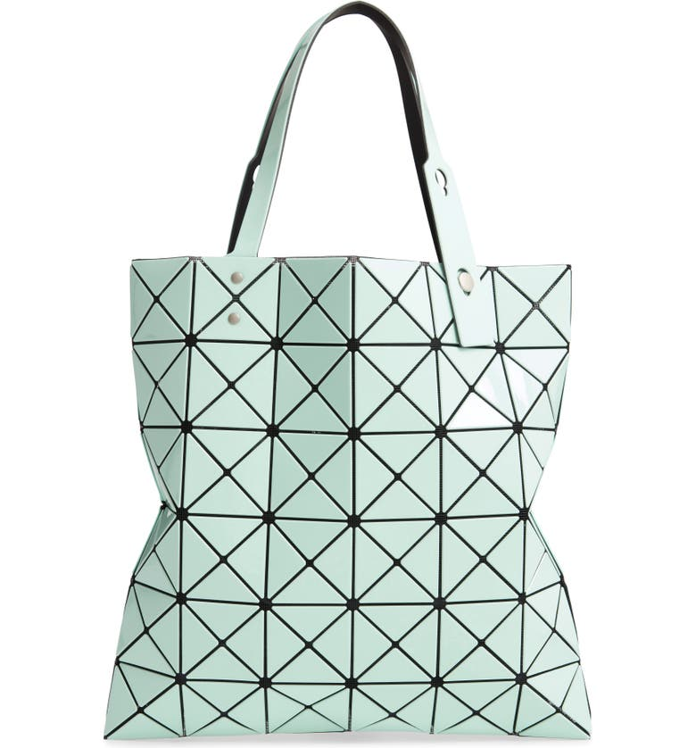 BAO BAO ISSEY MIYAKE Lucent Tote, Main, color, LIGHT MINT/ MINT
