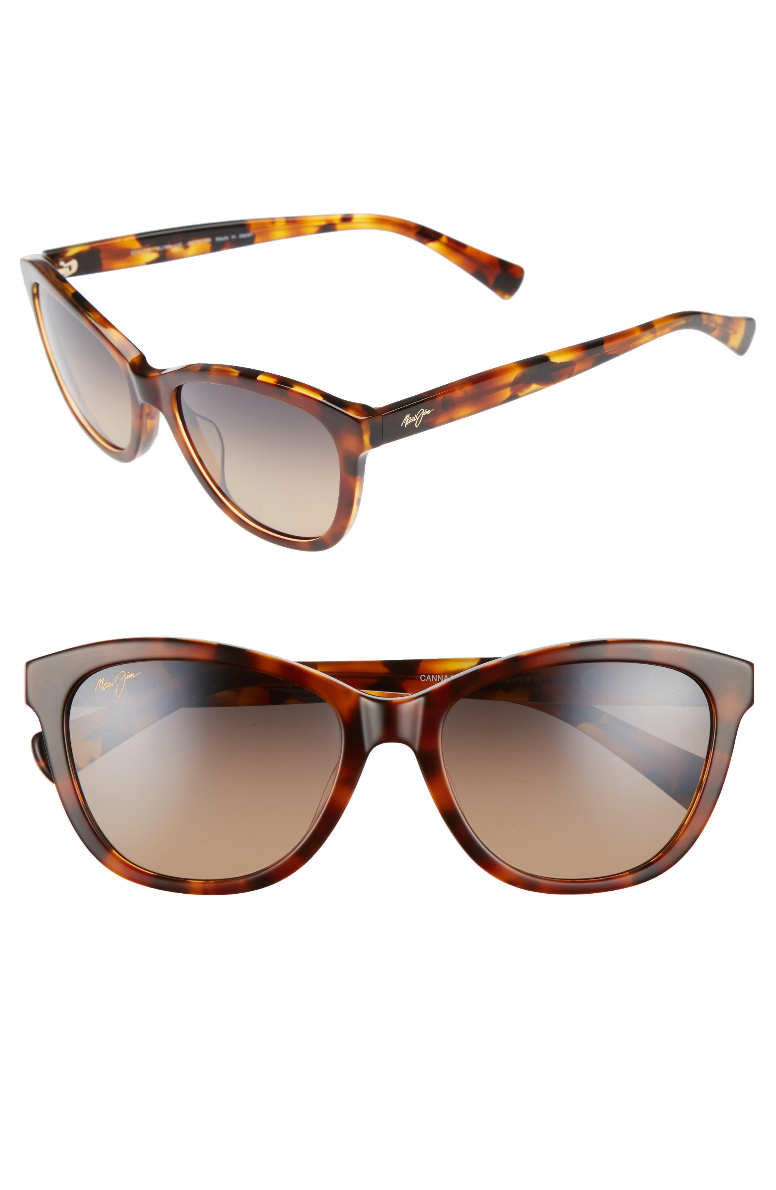 Canna 54mm Polarizedplus2 Cat Eye Sunglasses