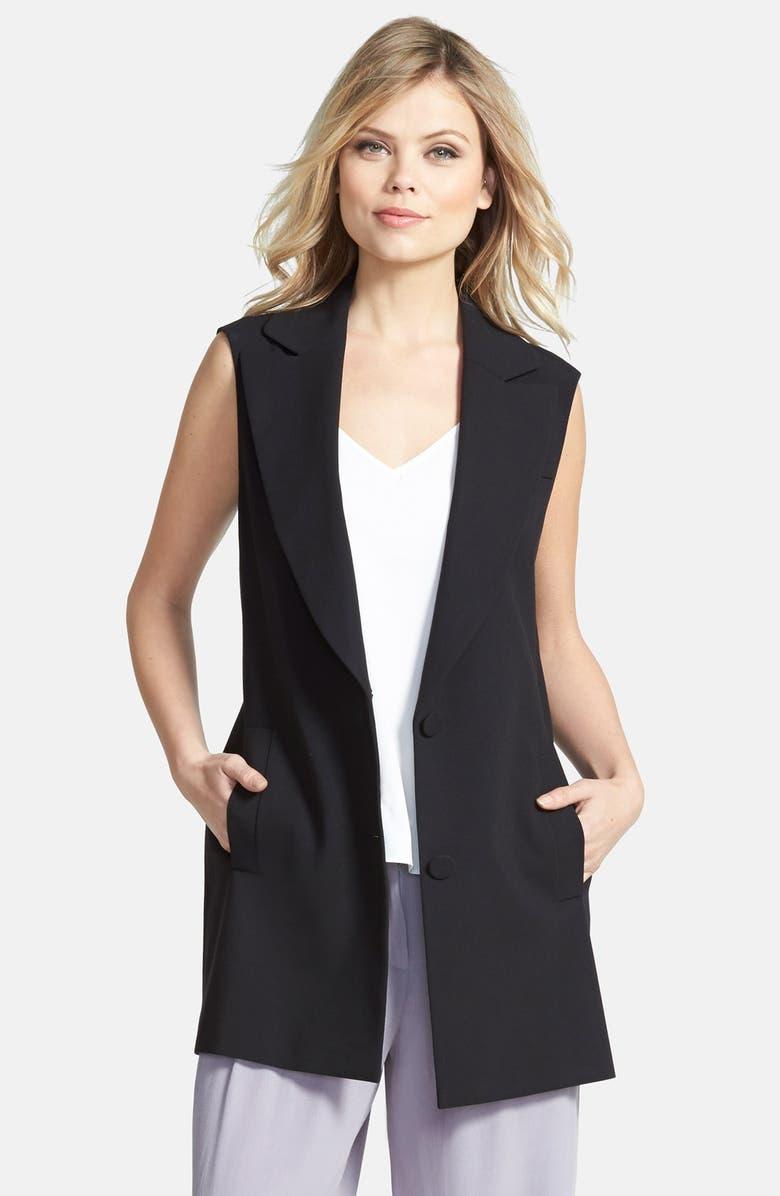 CHELSEA28 Longline Vest, Main, color, 001