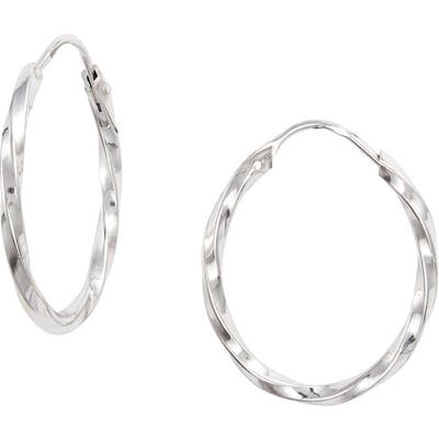 Karen London Tia Twisted Hoops