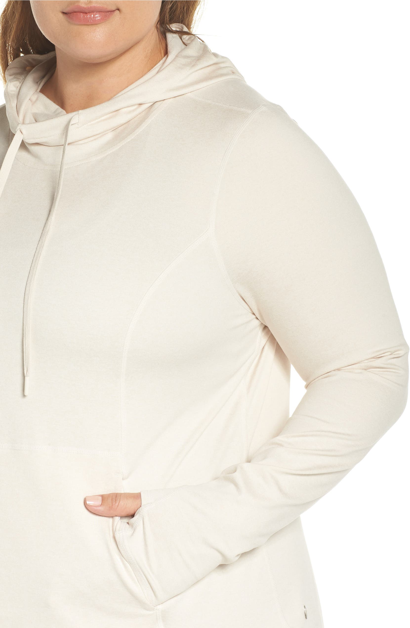 70c8ff41e6a3bf Zella Recycled Perfect Layer Hoodie (Plus Size) | Nordstrom