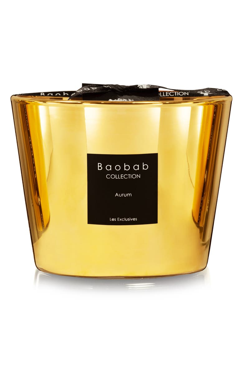BAOBAB COLLECTION Les Exclusives Aurum Candle, Main, color, AURUM- SMALL