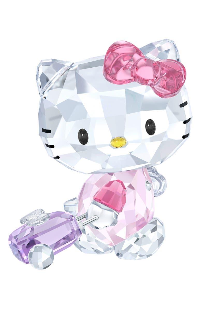 SWAROVSKI Hello Kitty Traveler Crystal, Main, color, CLEAR/ MULTI