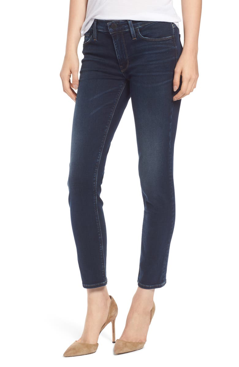 HUDSON JEANS Tally Crop Skinny Jeans, Main, color, DOWN N OUT