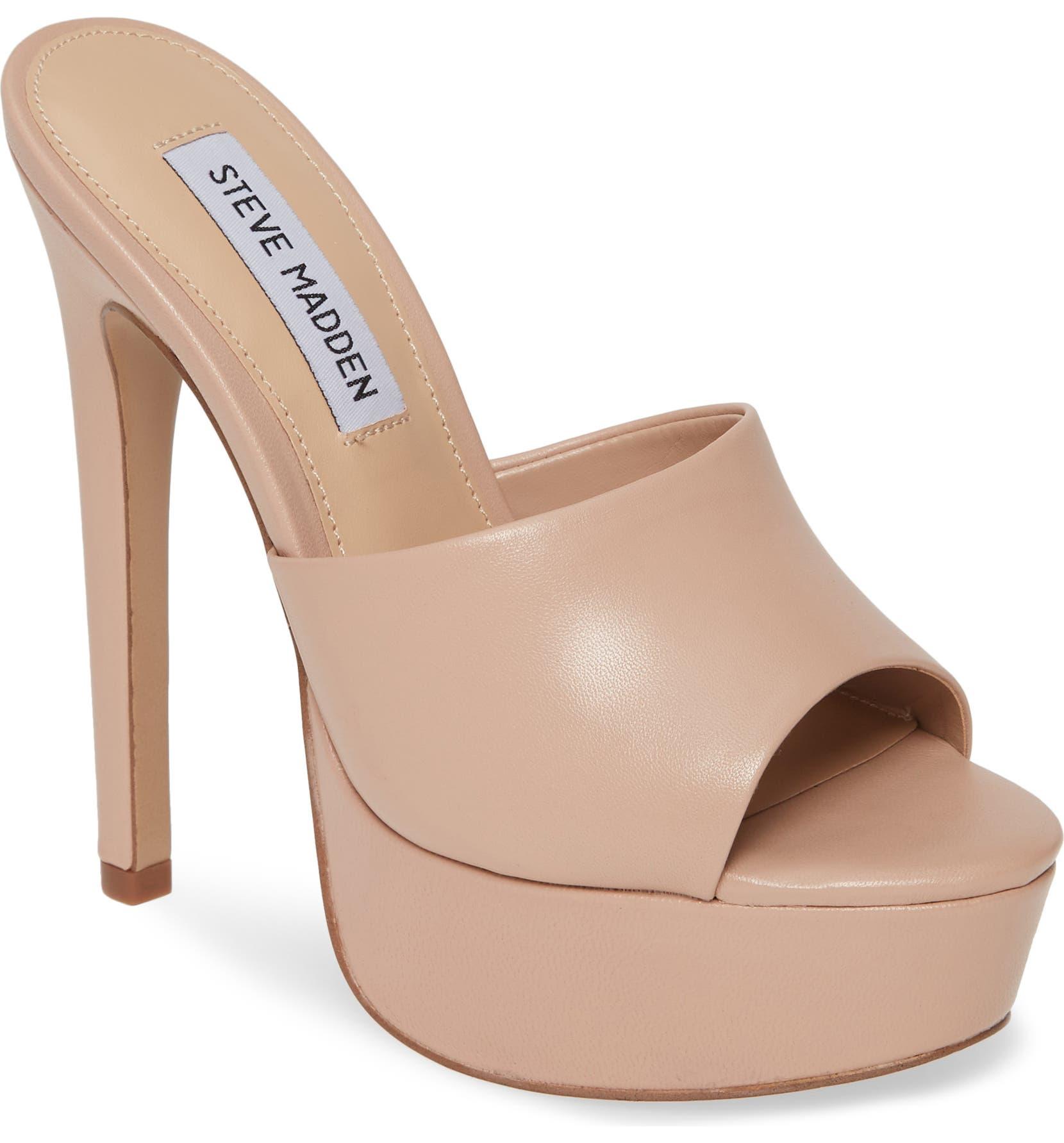 37de0fa8823 Steve Madden Identity Platform Slide Sandal (Women) | Nordstrom