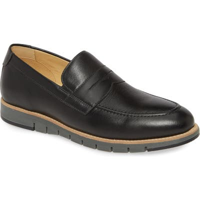 Johnston & Murphy Martell Penny Loafer, Black
