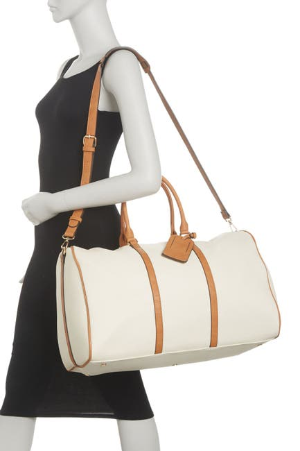 Image of Sole Society Lacie Vegan Leather Weekend Bag
