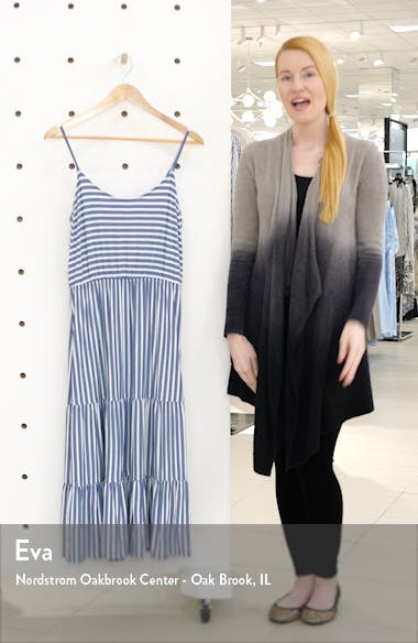 x The Motherchic Sunset Tiered Knit Maxi Dress, sales video thumbnail