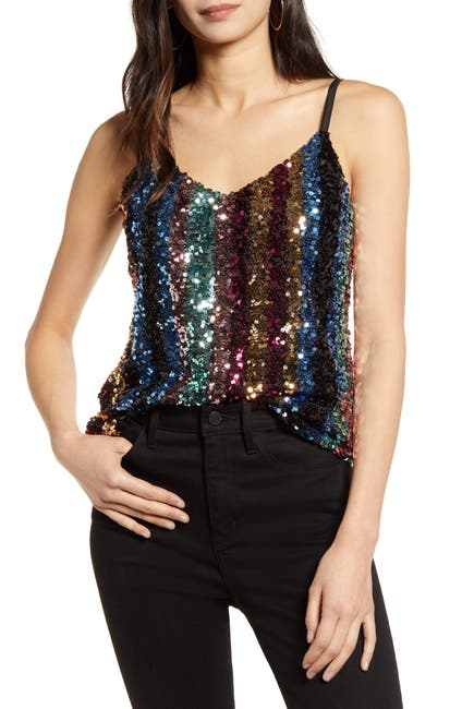 Image of cupcakes and cashmere Estonia Sequin Cami