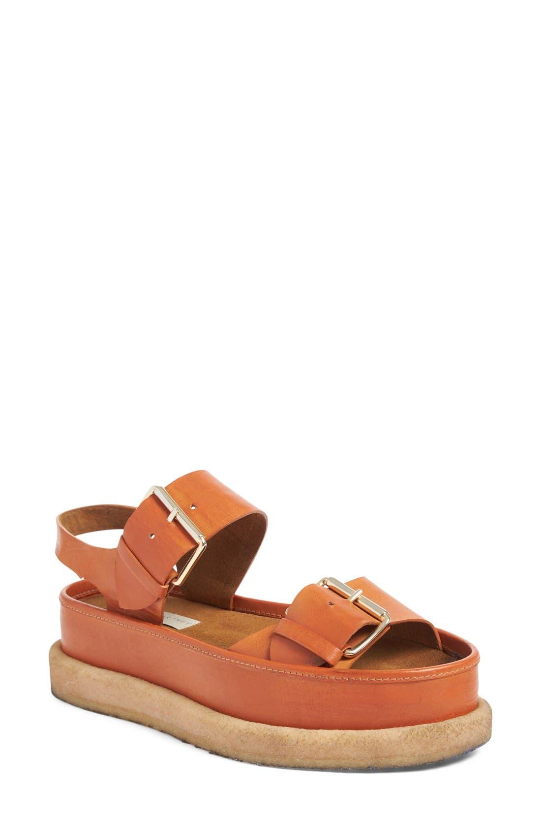 Stella McCartney Buckle Platform Sandal