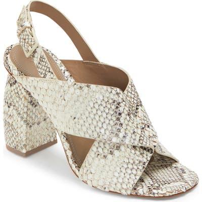 Mercedes Castillo Hae Slingback Sandal, White