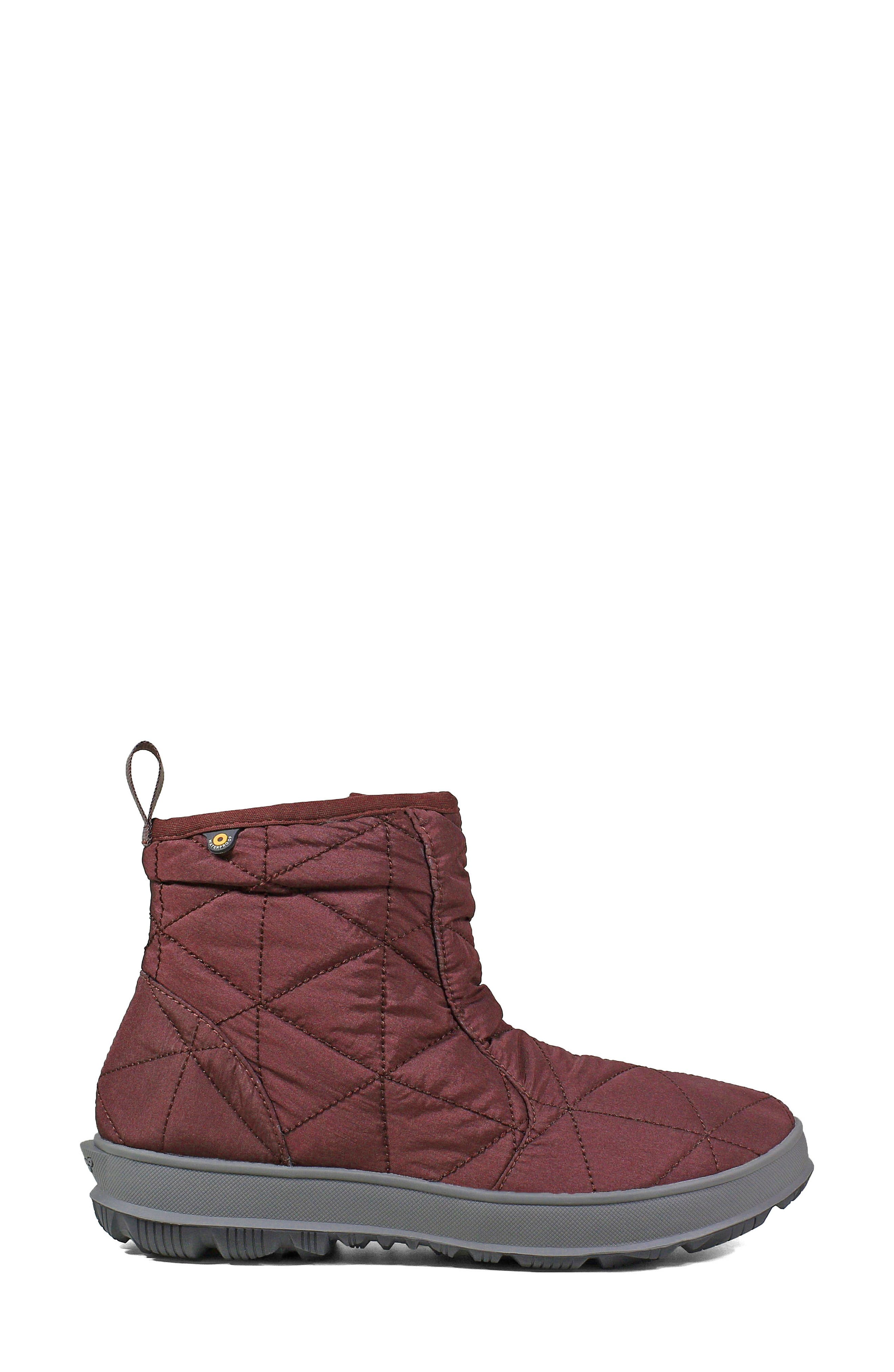 ,                             Snowday Waterproof Quilted Snow Boot,                             Alternate thumbnail 27, color,                             930