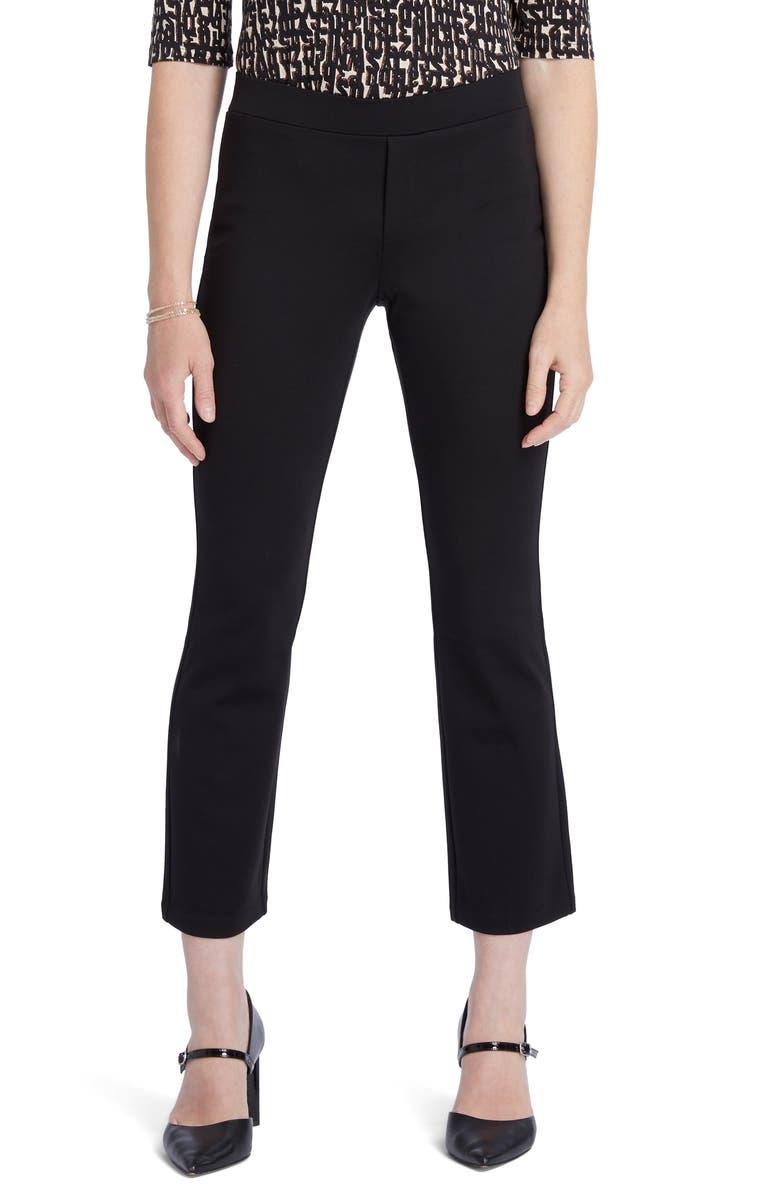 NIC+ZOE Ponte Kick Crop Pants, Main, color, 004