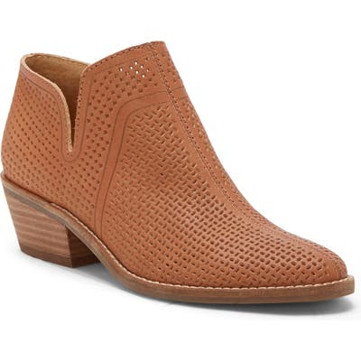 Lucky Brand Feyan Bootie- Brown