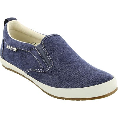 Taos Dandy Slip-On Sneaker- Blue