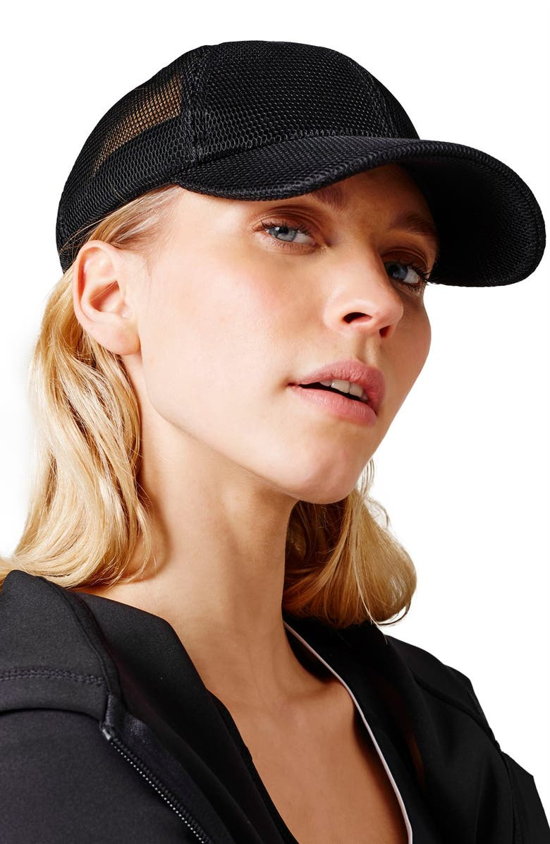 IVY PARK<SUP>®</SUP> Airtex Mesh Baseball Cap, Main, color, 001