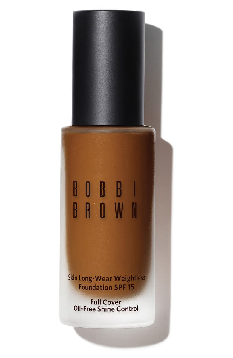 BOBBI BROWN Skin Long-Wear Weightless Foundation SPF 15, Main, color, N-080 NEUTRAL ALMOND