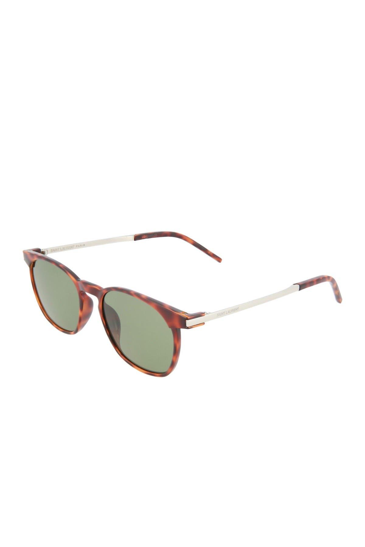 Image of Saint Laurent 51mm Square Sunglasses